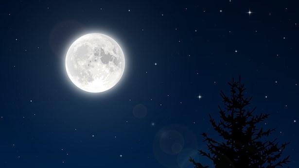 מחזה נדיר: שלושה ירחי-על עוקבים