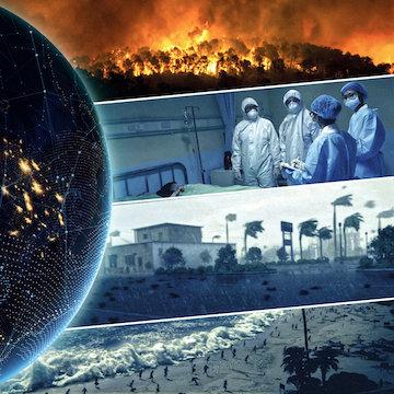 החדשות מלאות בסיפורים על מגפות, רעידות אדמה, שיטפונות ובצורות.